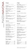 Pizza Cafe Menu