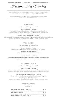 catering prices menu dinner catering menus. Black Bedroom Furniture Sets. Home Design Ideas