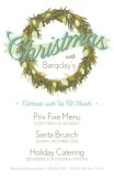 Restaurant Christmas Flyer