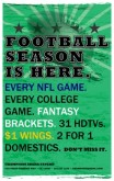 Football Menu Flyer
