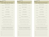 Comment Cards French Bistro