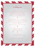 Holiday Menu Template | Christmas Menus