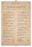 Irish Tavern Menu A4