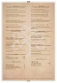 Irish Tavern Menu A4 Page