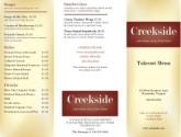Family Restaurants Trifold