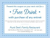 Online Coupon American Restaurant