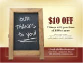 Online Coupon for Family Restaurant