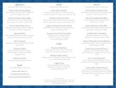 Carryout Trifold Menu
