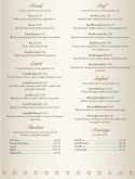 Indian Spice Menu Page