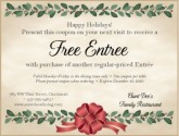 Holiday Online Coupon