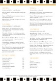 A4 Page Bistro Breakfast Menu