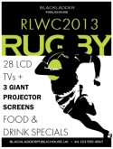 Rugby Match Flyer