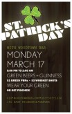 Happy St Patricks Day Flyer