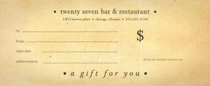 American Beer Gift Certificate | Marketing Archive