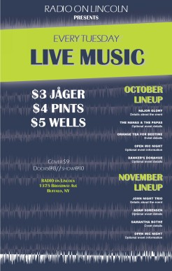 Live Music Restaurant Flyer Restaurant Flyer
