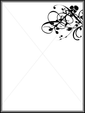 Formal Menu Frame Menu Borders
