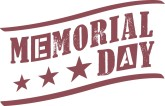 Memorial Day Banner Clipart