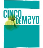 Cinco de Mayo Blue Background