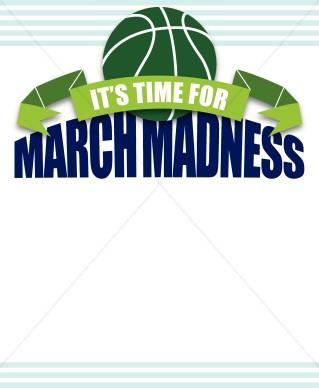 March Madness Border | Sports Clipart