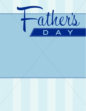 Fathers Day Background Fathers Clipart