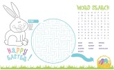 Easter Kids Activity Background