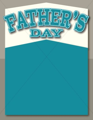 Fathers Day Poster Background | Father's Day Clipart