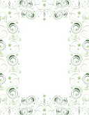 Customize 53 border with swirls menu borders musthavemenus green swirl border thecheapjerseys Image collections