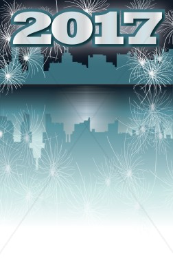 2017 NYE Background | New Year's Eve Clipart