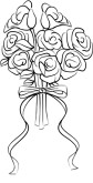 Bridal Bouquet Clipart