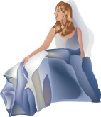 Blue Dress Clipart