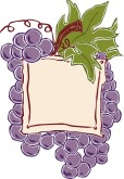 Wine Label Clipart