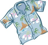 Tropical Shirt Clipart