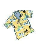 Hawaiian Shirt Clipart