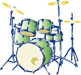 Drum Set Clipart