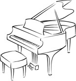 Piano Bar Clipart