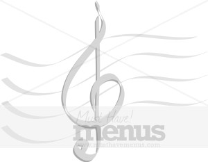 Music Staff Clipart