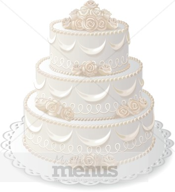 cake for dad wedding cake clipart cake clipart 2234