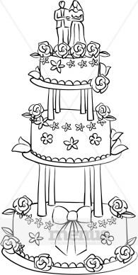 Reception Cake Clipart Cake Clipart