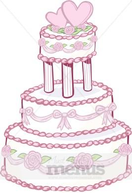 Designer Wedding Cake Clipart Cake Clipart