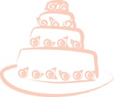 Tiered Wedding Cake Clipart
