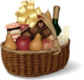 Gift Basket Clipart
