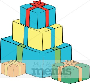 Birthday Gifts Clipart