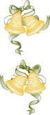 Gold Bells Clipart