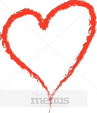 Customize 30 Heart Symbol Clip Art And Menu Graphics Musthavemenus