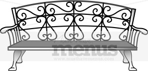 Bench Clipart