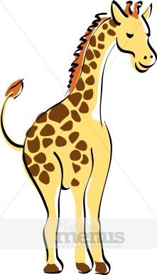 Giraffe Kids Clipart Kids Menu Clipart