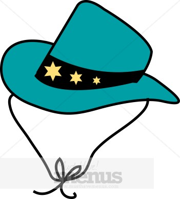 Child Cowboy Hat Clipart