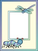 kid frame with bugs