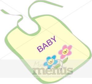 baby bib clipart kids menu clipart rh musthavemenus com baby girl bib clipart baby bib clipart black and white