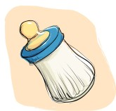 Baby Bottle Clipart